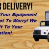 We Offer Delivery!
