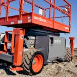 Scissor Lift Rough Terrain 6832